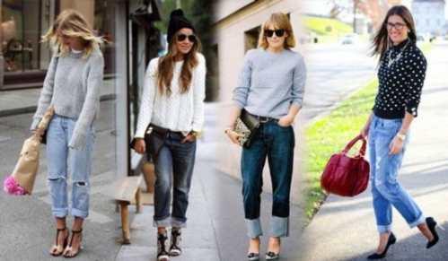 З чим носити джинси-бойфренди ac16954caa7a7
