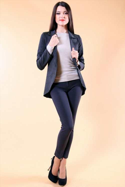Образ з вузькими укороченими брюками 774310a6fb09a